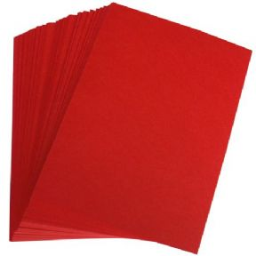 100 x A4 Christmas Red 250gsm Card - Bulk Buy